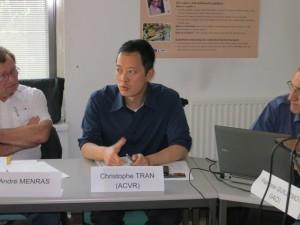 """Christophe Tran : """"Les Vietnamiens de l'étranger ont été choqués par la politique de fait accompli chinoise"""" © IAO 2014"""