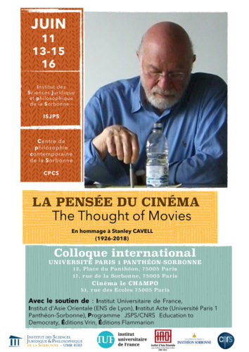 Colloque Stanley Cavell