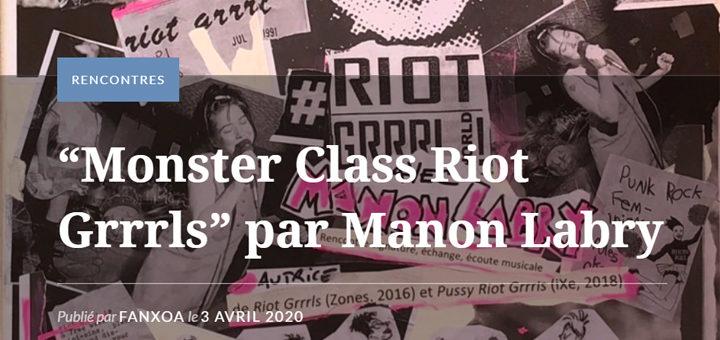 Monster Class Riot Grrrls