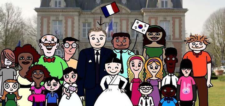 «Ma famille sans frontières» un film de Minju Song • © Hikari Productions et France 3 Hauts-de-France